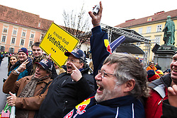01.12.2012, Graz, AUT, Formel 1 Show Run in Graz im Bild erster Sebastian Vettel Fan Klub // during the Formel 1 Show Run in Graz, Austria on 2012/12/01. EXPA Pictures © 2012, PhotoCredit: EXPA/ M. Kuhnke