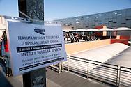 Roma 28 Novembre 2011.Inaugurata la nuova Stazione Tiburtina dell'alta velocità..Metropolitana chiusa per l'inaugurazione..