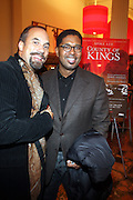 l to r: Roger Guenveur Smith and Jayson Jackson at The Opening for Spike Lee's theater production of  ' County of Kings' held at The Publc Theater on October  12, 2009