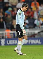 FUSSBALL     UEFA CUP  FINALE  SAISON 2008/2009 Shakhtar Donetsk - SV Werder Bremen 20.05.2009 Tim Wiese (Bremen) enttaeuscht