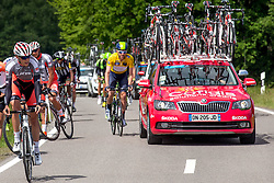 Radsport: 36. Bayern Rundfahrt 2015 / 5. Etappe, Hassfurt - Nuernberg, 17.05.2015<br /> Cycling: 36th Tour of Bavaria 2015 / Stage 5, <br /> Hassfurt - Nuernberg, 17.05.2015<br /> # 32 Dowsett, Alex (GBR, MOVISTAR TEAM)