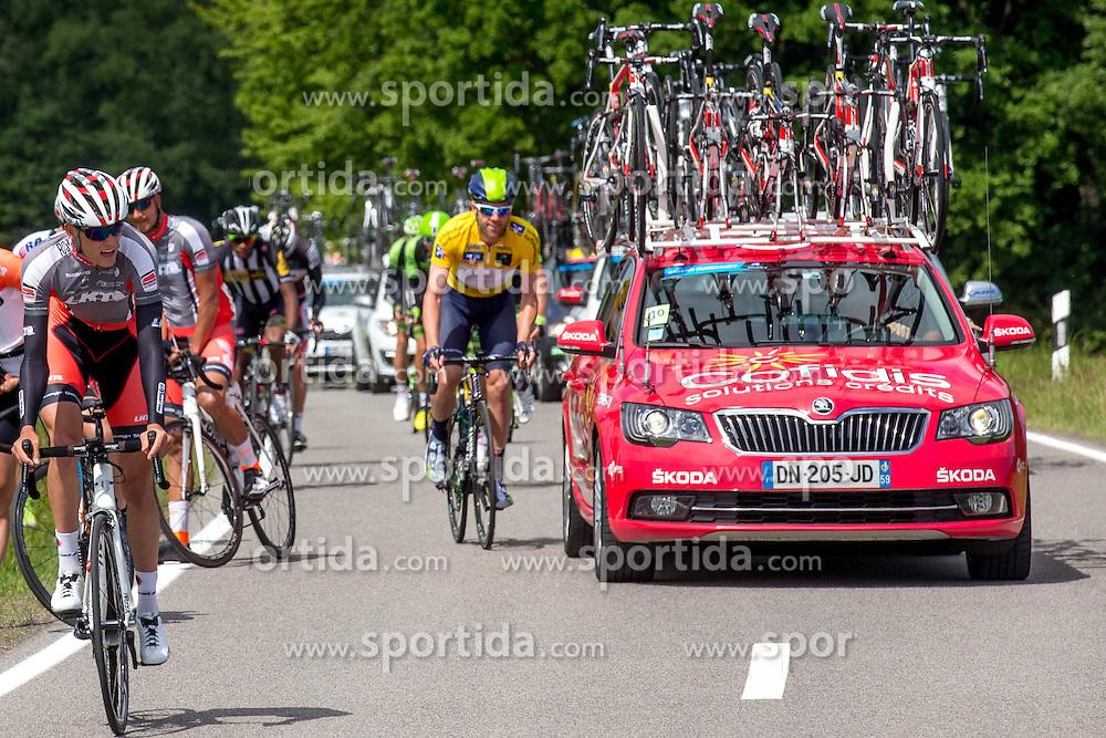 Radsport: 36. Bayern Rundfahrt 2015 / 5. Etappe, Hassfurt - Nuernberg, 17.05.2015<br /> Cycling: 36th Tour of Bavaria 2015 / Stage 5, <br /> Hassfurt - Nuernberg, 17.05.2015<br /> # 32 Dowsett, Alex (GBR, MOVISTAR TEAM)