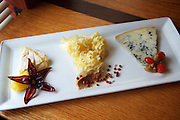 Jersey City, NJ - January 14, 2016: A cheese plate at Third and Vine, a Cheese and Wine Tavern in the Historic Downtown District. CREDIT: Clay Williams for Edible Jersey.<br /> <br /> <br /> © Clay Williams / claywilliamsphoto.com