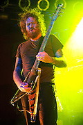 Mastodon performing in concert at Pop's in Sauget, Illinois on November 13, 2011. © Todd Owyoung.