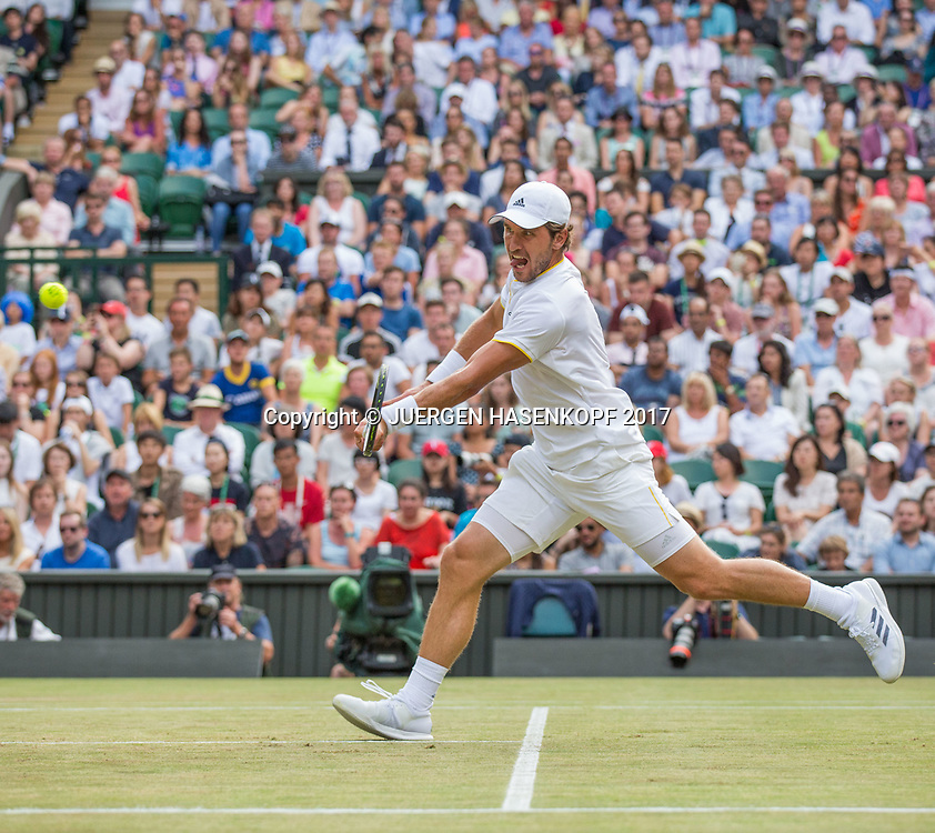 MISCHA ZVEREV (GER)<br /> <br /> Tennis - Wimbledon 2017 - Grand Slam ITF / ATP / WTA -  AELTC - London -  - Great Britain  - 8 July 2017.