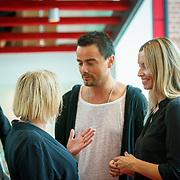 NLD/Amsterdam/20180819 - Premiere Blind Date, Dinand Woesthoff en partner Lucy