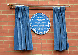 Leyton Orient unveil a blue plaque on Brisbane Road in memory of the late Laurie Cunningham - Photo mandatory by-line: Mitchell Gunn/JMP - Tel: Mobile: 07966 386802 12/10/2013 - SPORT - FOOTBALL - Brisbane Road - Leyton - Leyton Orient V MK Dons - League One