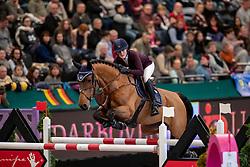 WULFF Lesley (GER), Luigi<br /> Leipzig - Partner Pferd 2019<br /> IDEE Kaffe Preis<br /> CSI5*<br /> 18. Januar 2019<br /> © www.sportfotos-lafrentz.de/Stefan Lafrentz