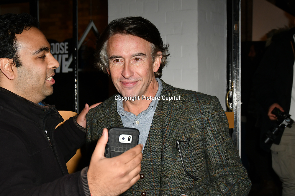 Steve Coogan arrives at Choose Love shop launch at Foubert's Place, Carnaby on 22 November 2018, London, UK.