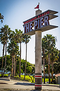 Redondo Beach Pier Signage