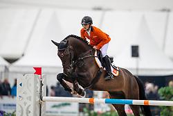 Vos Thijmen, NED, Theo 149<br /> European Jumping Championship Children<br /> Zuidwolde 2019<br /> © Hippo Foto - Dirk Caremans<br /> Vos Thijmen, NED, Theo 149