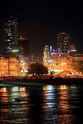 INDIA MUMBAI 28MAY10 - Night view of the Mumbai skyline and Marine Drive in Mumbai, India...jre/Photo by Jiri Rezac..© Jiri Rezac 2010