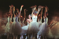 Alina Cojocaru In the Royal Ballet production of Swan Lake. London 10/02<br />
