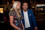 PETRA ECCLESTONE; JAMES STUNT,  Form - launch party <br /> Matches, 87 Marylebone High Street,   London. 7 September 2009.