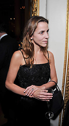 Kate Fall at a party to celebrate 300 years of Tatler magazine held at Lancaster House, London on 14th October 2009.