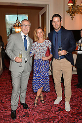 Left to right, JOHN ZAMMETT, JAMIE & LOUISE REDKNAPP at the Audi Ballet Evening at The Royal Opera House, Covent Garden, London on 23rd April 2015.