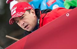 03.01.2016, Bergisel Schanze, Innsbruck, AUT, FIS Weltcup Ski Sprung, Vierschanzentournee, Probedurchgang, im Bild Trainer Alexander Pointner (BUL) // Austrian Coach Alexander Pointner of Bulgaria during his Trial Jump for the Four Hills Tournament of FIS Ski Jumping World Cup at the Bergisel Schanze, Innsbruck, Austria on 2016/01/03. EXPA Pictures © 2016, PhotoCredit: EXPA/ Jakob Gruber