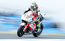 October 21, 2017 - Melbourne, Victoria, Australia - British rider Cal Crutchlow (#35) of LCR Honda in action during the third free practice session at the 2017 Australian MotoGP at Phillip Island, Australia. (Credit Image: © Theo Karanikos via ZUMA Wire)