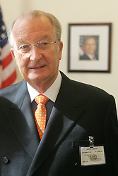 NEW YORK, NY - MAY-13-2007 - King Albert II of Belgium, during his visit to the United Nations as Belgium now holds one of the non-permamnent seats on the UN Security Council..(Reporters © Jock Fistick)