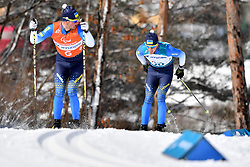 competing in the ParaSkiDeFond, Para Nordic 10km during the PyeongChang2018 Winter Paralympic Games, South Korea.