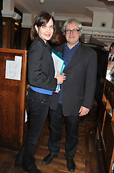 ELIZABETH McGOVERN and SIMON CURTIS at One Night Only at The Ivy held at The Ivy, 1-5 West Street, London on 2nd December 2012.