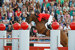 Estermann Paul, (SUI), Castlefield Eclipse<br /> Individual competition round 3 and Final Team<br /> FEI European Championships - Aachen 2015<br /> © Hippo Foto - Dirk Caremans<br /> 21/08/15
