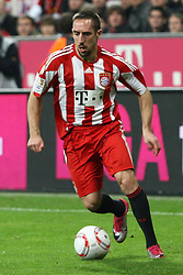 14.11.2010, Allianz Arena, Muenchen, GER, 1.FBL, FC Bayern Muenchen vs 1.FC Nuernberg, im Bild Franck Ribery (Bayern #7)  , EXPA Pictures © 2010, PhotoCredit: EXPA/ nph/  Straubmeier+++++ ATTENTION - OUT OF GER +++++