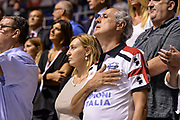 DESCRIZIONE : Beko Supercoppa 2015 Finale Grissin Bon Reggio Emilia - Olimpia EA7 Emporio Armani Milano<br /> GIOCATORE : Tifosi Pubblico Spettatori Inno<br /> CATEGORIA : Tifosi Pubblico Spettatori<br /> SQUADRA : Dinamo Banco di Sardegna Sassari<br /> EVENTO : Beko Supercoppa 2015<br /> GARA : Grissin Bon Reggio Emilia - Olimpia EA7 Emporio Armani Milano<br /> DATA : 27/09/2015<br /> SPORT : Pallacanestro <br /> AUTORE : Agenzia Ciamillo-Castoria/L.Canu