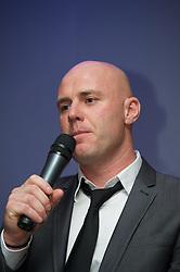 CARDIFF, WALES - Friday, May 18, 2012: Robert Page during an FAW Coaching course at the Glamorgan Sports Park. (Pic by David Rawcliffe/Propaganda)