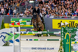 BRASH Scott (GBR), Hello Senator<br /> Genf - CHI Geneve Rolex Grand Slam 2019<br /> Rolex Grand Prix<br /> Internationale Springprüfung mit Stechen<br /> International Jumping Competition 1m60<br /> Grand Prix Against the Clock with Jump-Off<br /> 15. Dezember 2019<br /> © www.sportfotos-lafrentz.de/Stefan Lafrentz