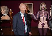 ALLEN JONES, Allen Jones private view. Royal Academy,  London. 11 November  2014.