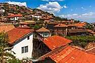 Houses in Teshovo village