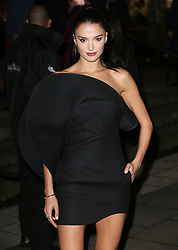 Gabrielle Caunesil arrives at the Late Fabulous Fund Fair at the Roundhouse in London during the Autumn/Winter 2019 London Fashion Week. PRESS ASSOCIATION. Picture date: Monday February 18, 2019. Photo credit should read: Isabel Infantes/PA Wire