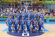KOPER EUROBASKET 2013 4 SETTEMBRE 2013<br /> NAZIONALE ITALIANA MASCHILE<br /> ITALIA-RUSSIA<br /> NELLA FOTO: TEAM<br /> FOTO CIAMILLO