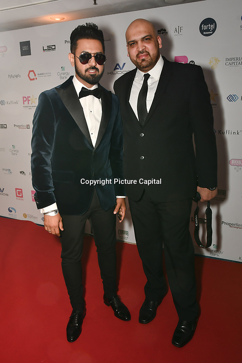 Gippy Grewal is an actor attend the BritAsiaTV Presents Kuflink Punjabi Film Awards 2019 at Grosvenor House, Park Lane, London,United Kingdom. 30 March 2019