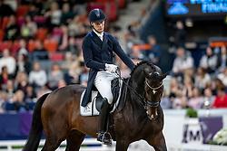 ANDERSEN Daniel Bachmann (DEN), Blue Hors Zack<br /> Göteborg - Gothenburg Horse Show 2019 <br /> FEI Dressage World Cup™ Final II<br /> Grand Prix Freestyle/Kür<br /> Longines FEI Jumping World Cup™ Final and FEI Dressage World Cup™ Final<br /> 06. April 2019<br /> © www.sportfotos-lafrentz.de/Stefan Lafrentz