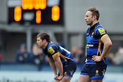 Chris Pennell of Worcester Warriors looks on - Mandatory byline: Patrick Khachfe/JMP - 07966 386802 - 13/02/2016 - RUGBY UNION - Sixways Stadium - Worcester, England - Worcester Warriors v Bath Rugby - Aviva Premiership.
