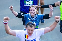 04-11-2018 USA: 2018 TCS NYC Marathon, New York<br /> Race day  TCS New York City Marathon / Ellen