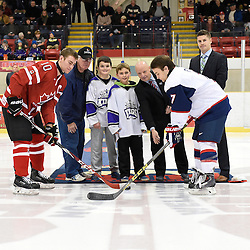 WELLINGTON, - Dec 11, 2015 -  Exhibition Game 2- Team Canada East vs Team USA at the Junior A Challenge at the Wellington District Community Centre, ON. (Photo: Andy Corneau / OJHL Images)