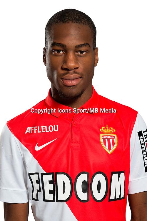 Geoffrey KONDOGBIA - 29.08.2014 - Photo officielle Monaco - Ligue 1 2014/2015<br /> Photo : Stephane Senaux / AS Monaco / Icon Sport