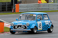 #49 Gary Warburton Mini Miglia during the Dunlop Mini Miglia Challenge at Oulton Park, Little Budworth, Cheshire, United Kingdom. August 20 2016. World Copyright Peter Taylor/PSP.