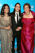 30 November 2010- New York, NY- l to r: Olivia Harrison, Dhani Harrison and Caryl M. Stern, President & CEO of The U.S. Fund for UNICEF at The Seventh Annual UNICEF Snowflake Ball Presented by Baccarat on November 30, 2010 and held at Cipriani 42nd Street in New York City. Photo Credit: Terrence Jennings