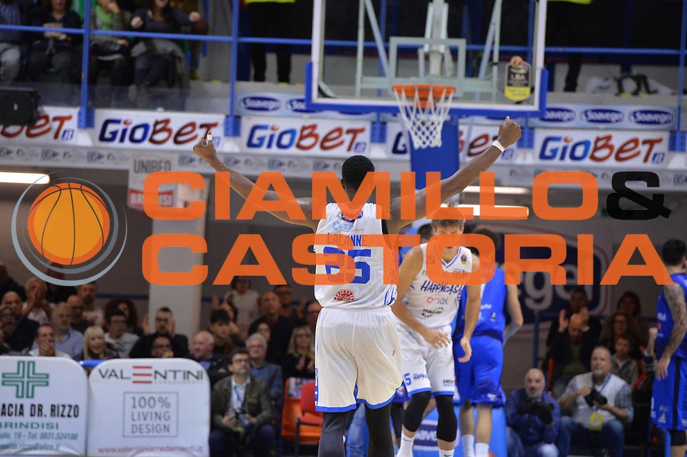 Lalanne Cady<br /> Happycasa Brindisi - Germani Basket Brescia<br /> Legabasket serieA2017-2018<br /> Brindisi , 29/10/2017<br /> Foto Ciamillo-Castoria/M.Longo