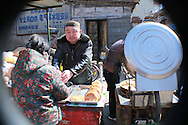 get your yummy greasy sesame bread here<br /> Shijiazhuang, Hebei, China