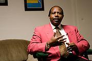 Paul Rusesabagina speaks at Ohio University on Monday, October 10, 2005