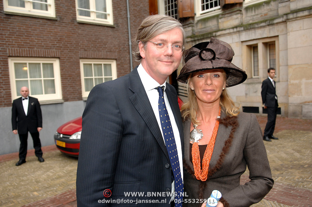 NLD/Amsterdam/20061111 - Huwelijk Christijan Albers en Liselore Kooijman, Victor Muller en partner