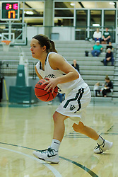 06 December 2017:  Kelsey Walsberg during an NCAA women's basketball game between the Wheaton Thunder and the Illinois Wesleyan Titans in Shirk Center, Bloomington IL