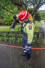 Wellington-Torrential rain causes flooding in capital