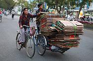 Recycling in Hue, Vietnam