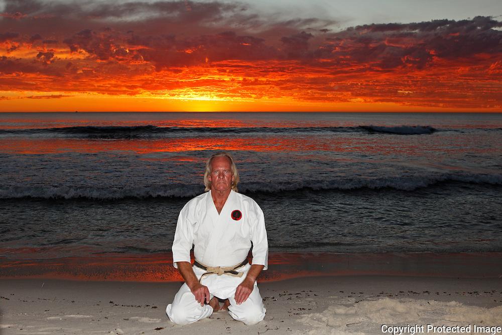 Sensei Terry Lyon 6th Dan Traditional Okinawan GoJu Ryu Karate